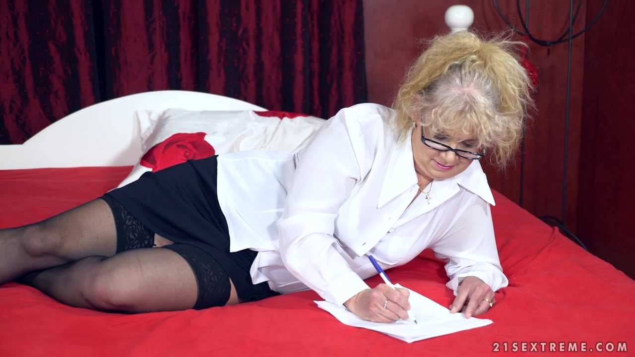 Naughty Granny's Sexual Pleasures
