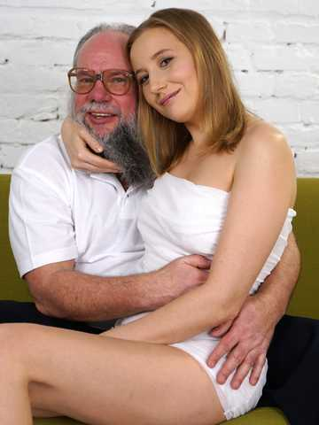 Kiki's Fun With A Horny Old Man