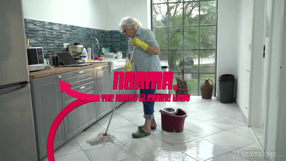 Norma, the Horny Cleaning Lady