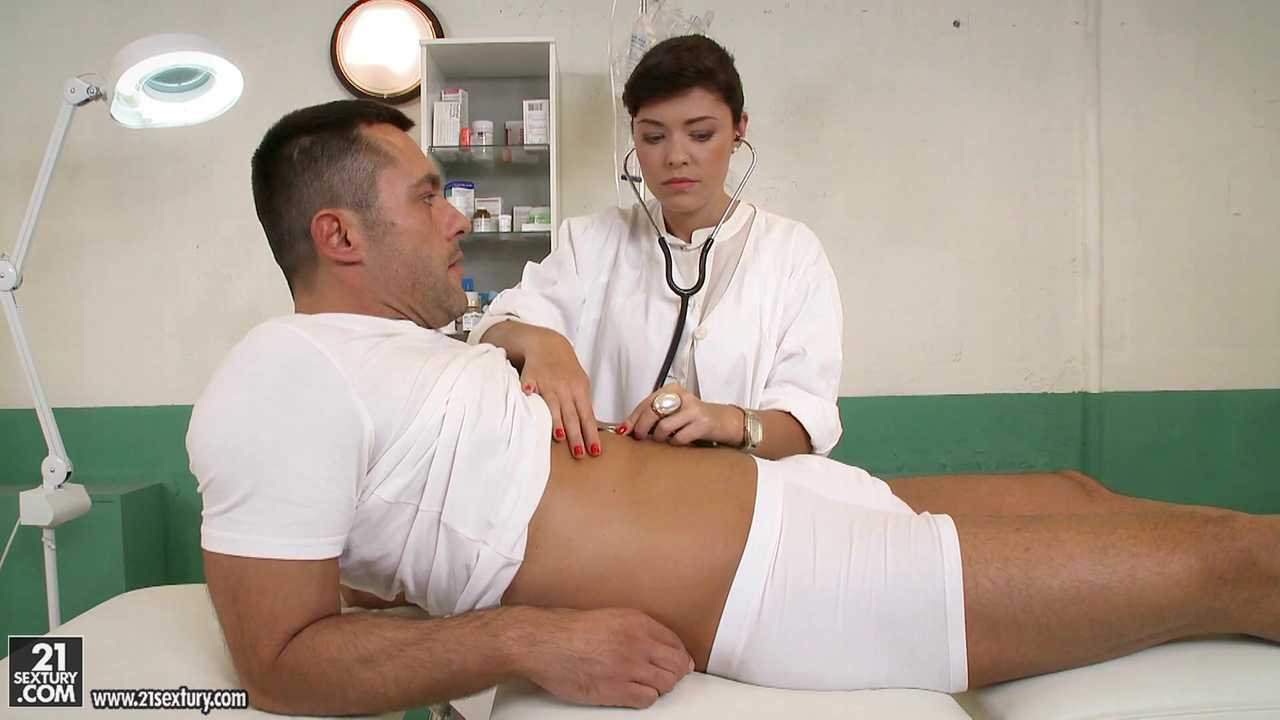 Cum-covered Ava Dalush, Scene #01