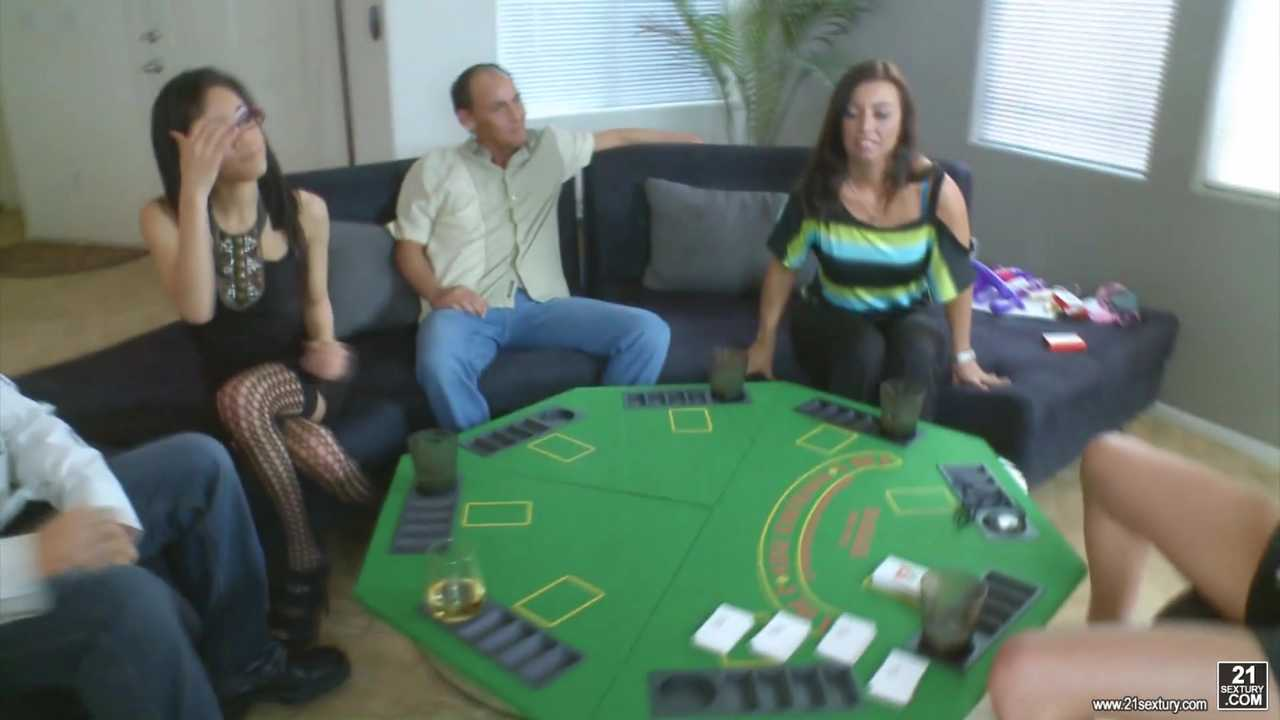 Naughty Poker Group Sex