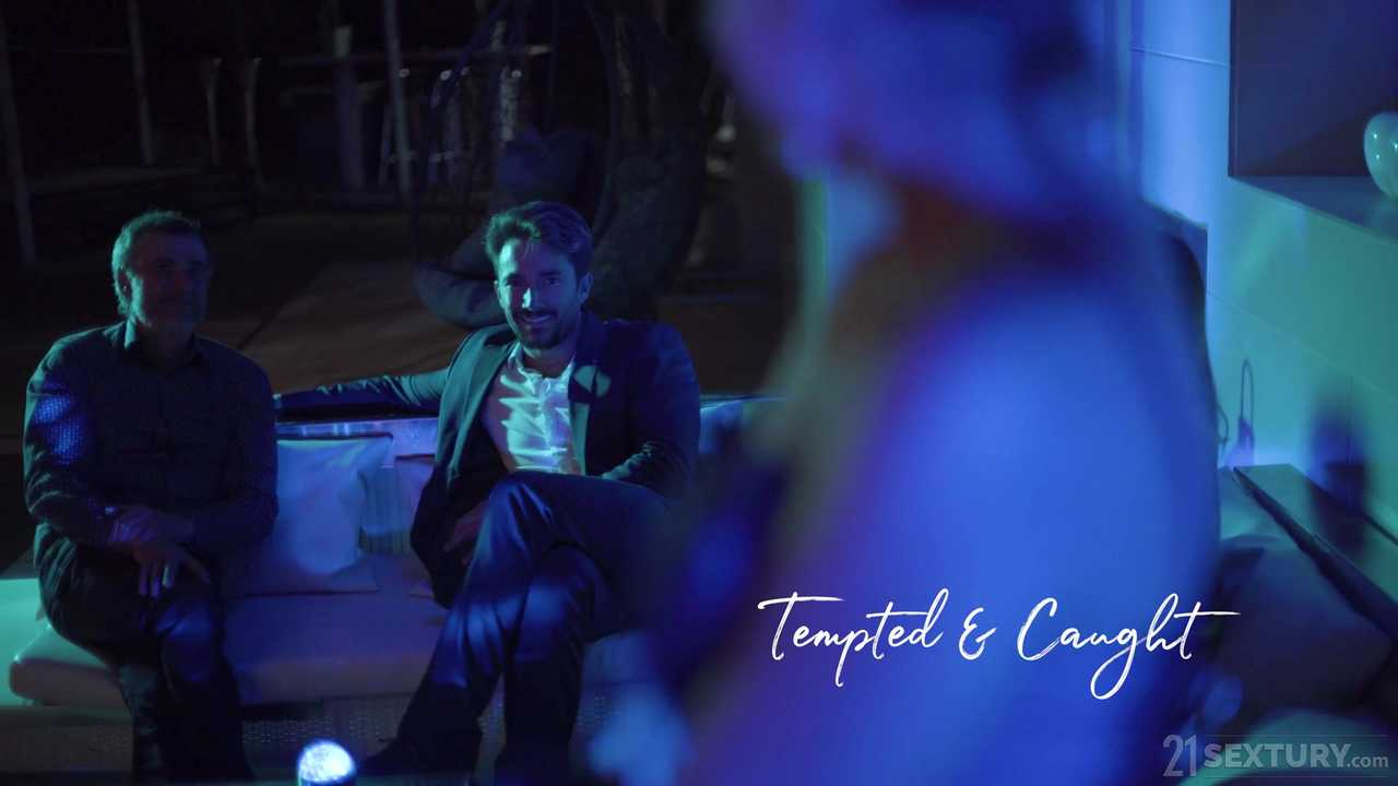 An Angel In Blue: Tempted & Caught
